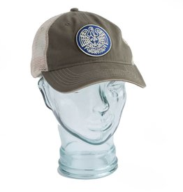 State Seal Icon Unstructured Trucker Hat