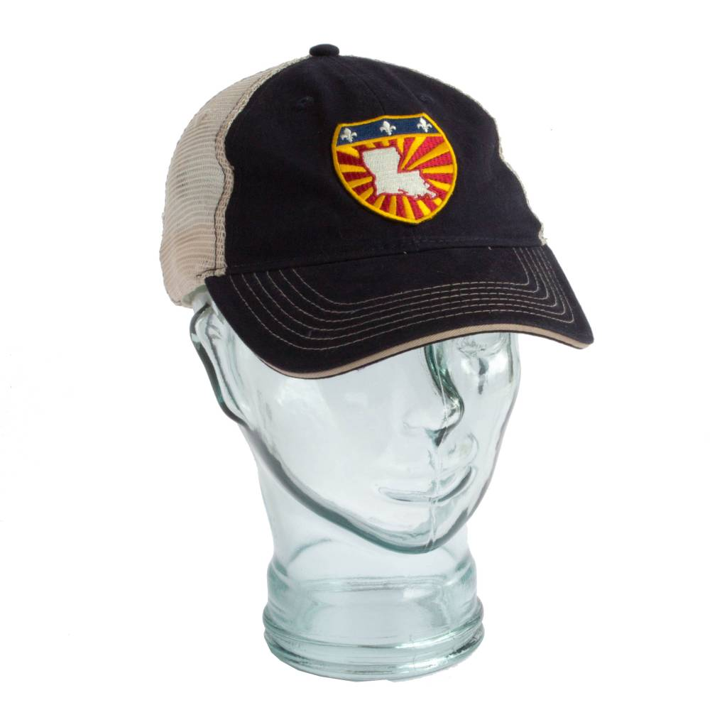 LA Shield Unstructured Trucker Hat