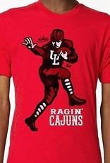 Ragin' Cajuns Player Mens Tee
