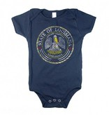 State Seal Baby Onesie