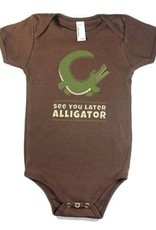 See You Later Alligator Baby Onesie