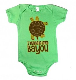 I Wanna Be Loved Bayou Baby Onesie