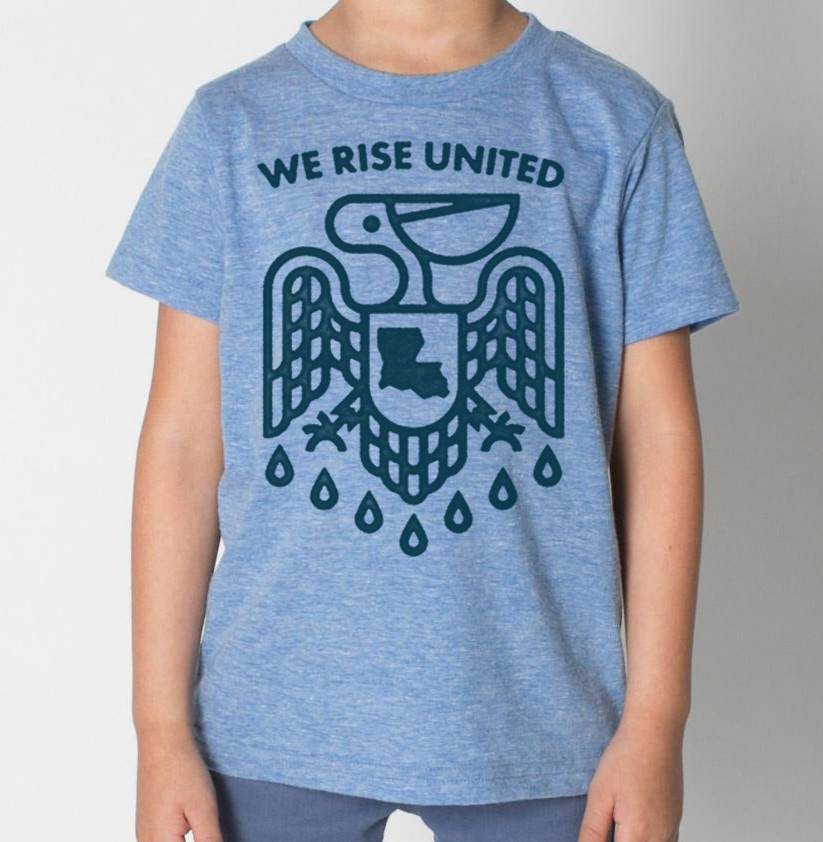 We Rise United Toddler Tee