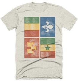 Creole Flag Mens Tee