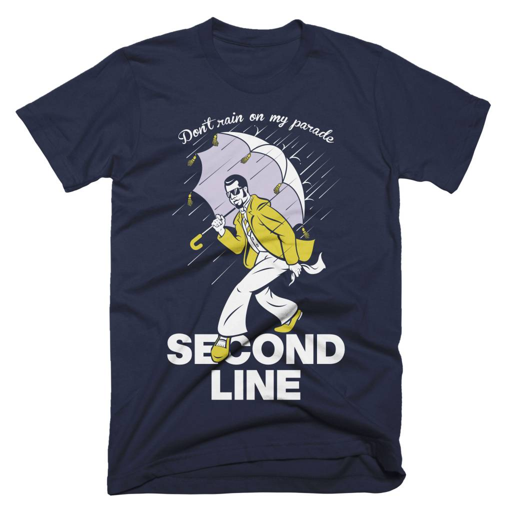 Second Line Mens Tee