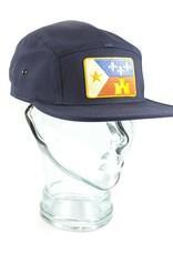 Acadian Flag Camp Hat Navy
