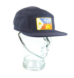 Acadian Flag Camp Hat Navy