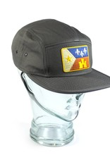 Acadian Flag Camp Hat Gray