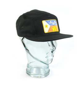 Acadian Flag Camp Hat Black