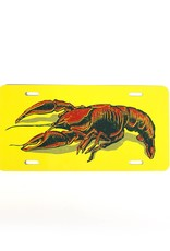 Crawfish License Plate