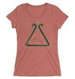 Cajun Geometry Womens Tee