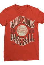 Ragin' Cajuns Baseball 1903 Womens Tee