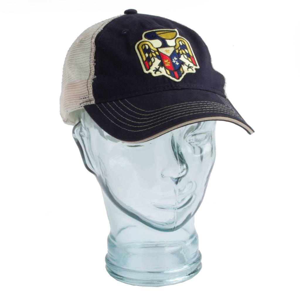 Pelican Crest Unstructured Trucker Hat