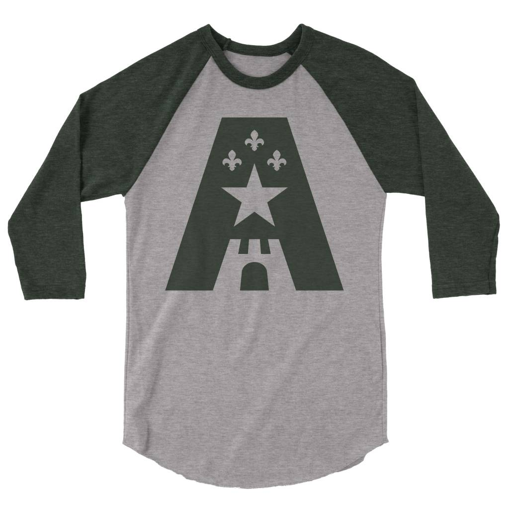 Capitaine Acadian Mens 3/4 Sleeve Tee