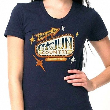 Cajun Country Womens Tee