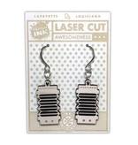 Accordion #1 Earrings