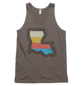LA Stripes Mens Tank