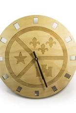 Acadian Flag Clock