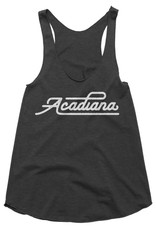 Acadiana Script Womens Tank