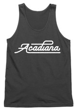 Acadiana Script Mens Tank