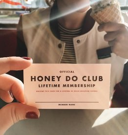Membership: Honey Do Mini Card