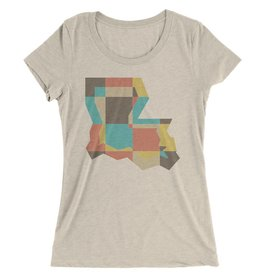 Patchwork State Womens Tee