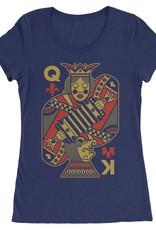 King Creole Cajun Queen Womens Tee