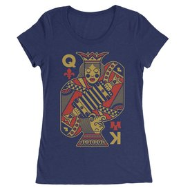 King Creole Cajun Queen Womens Tee