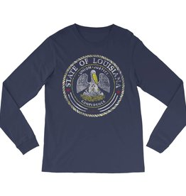 State Seal Mens LS Tee