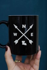 Louisiana Compass Coffee Mug
