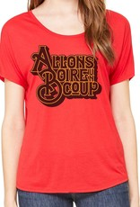 Allons Boire un Coup Womens Slouchy Tee
