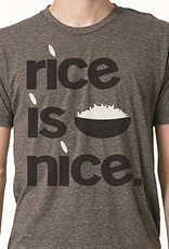 Rice is Nice Mens Tee