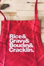 Rice and Gravy Apron