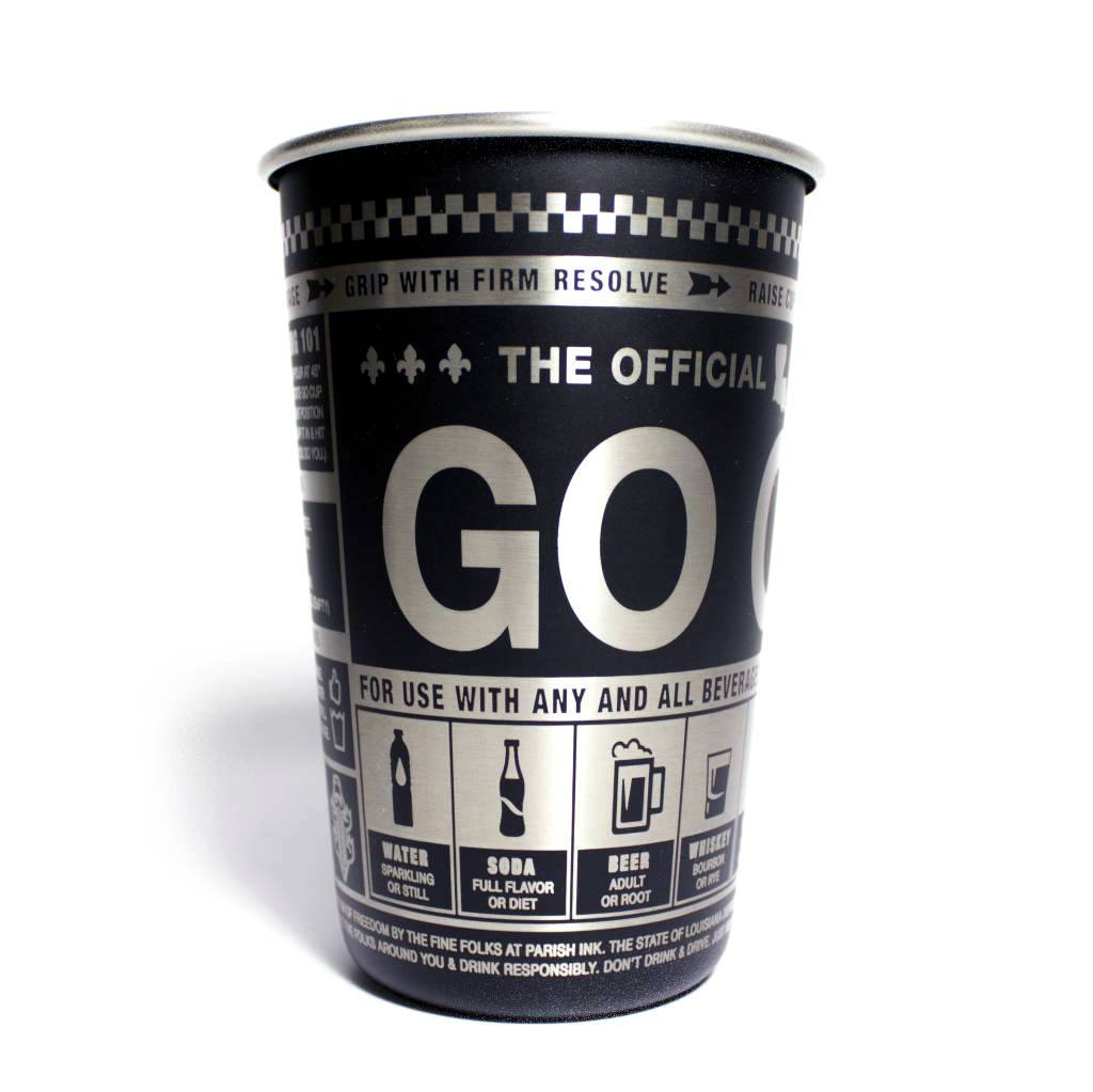 Official Louisiana 16oz Go Cup