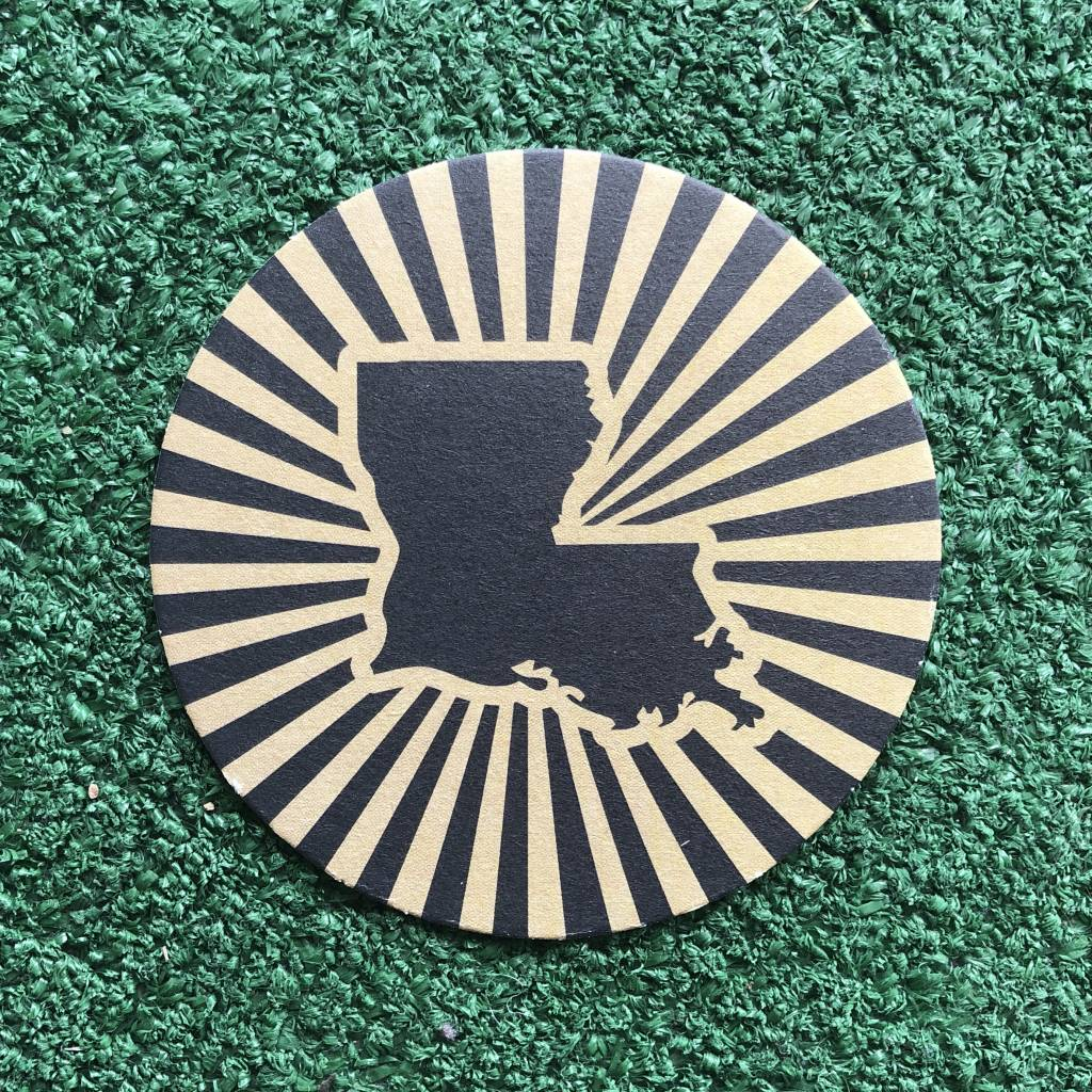Louisiana Power Paper Coaster Set