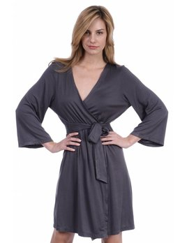 Samantha Chang Travel Robe - Medium - slate - SC Samantha Chang