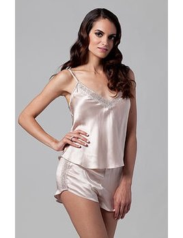 The Giving Bride Blush Silk Tap Short - The Giving Bride