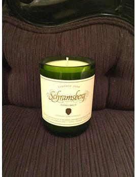 Under the Influence Candles Schramsberg Extra Brut- Carmelized Prailine - Candles Under The Influence