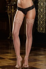 DreamGirl Lace Top Thigh High - Dreamgirl 0005