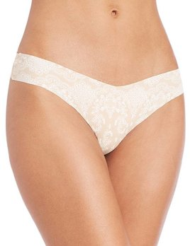 Commando Commando Printed Thong - Lady Lace
