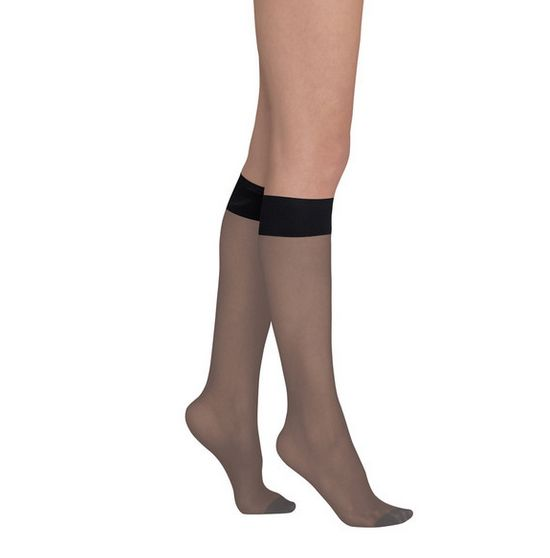 Commando Comm sheer knee-highs Black HSK02 O/S