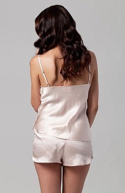 The Giving Bride Blush Silk Cami - The Giving Bride