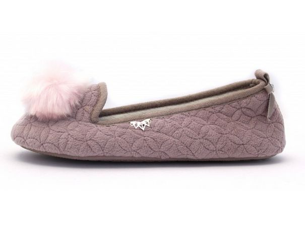Pretty You Slippers - Purple Slip-ons Meryl