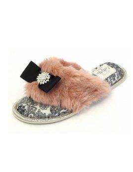 Pretty You Slippers - Pink Natasha Flipflop