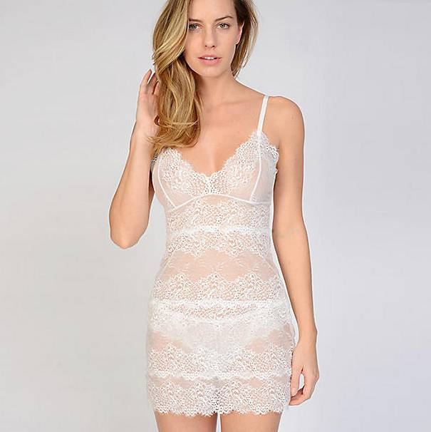 Samantha Chang All Lace Slip and Thong - SC 442121