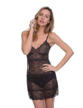 Samantha Chang All Lace Slip and Thong - SC 442121