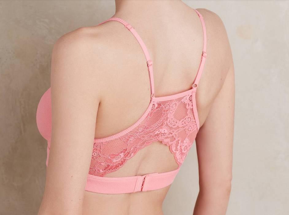 Samantha Chang Ribbed Cotton Yoga Bra - Samantha Chang SC126615