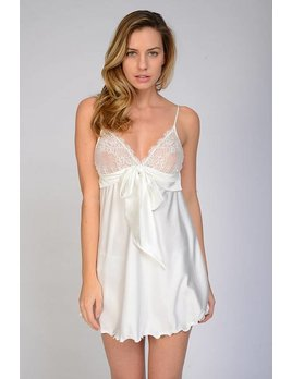 Samantha Chang Honeymoon Silk Babydoll - Samantha Chang