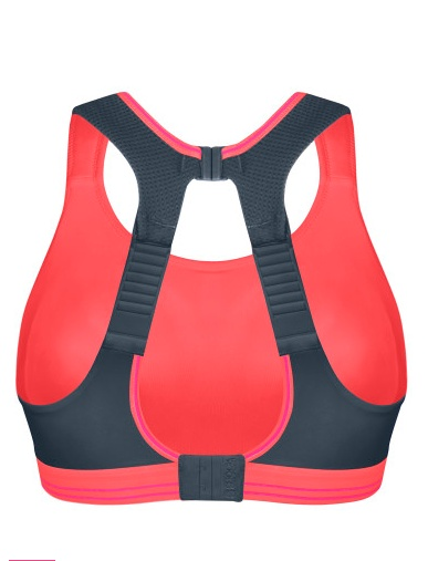 Shock Absorber Ultimate Run Sports Bra - Black/Silver - Shock Absorber