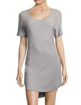 Cosabella Arizona Sleep Tee - Dove Grey - Cosabella